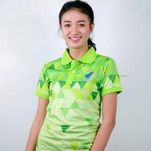 เสื้อโปโล สีเขียว